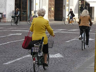 ¿Y por qué dices que no puedes ir en bicicleta al trabajo?